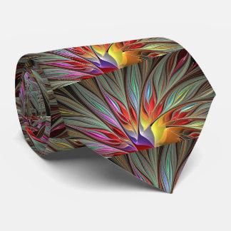 Fractal Bird of Paradise Tie