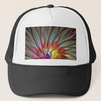 Fractal Bird of Paradise Trucker Hat