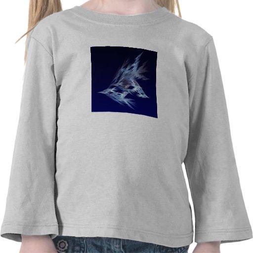 Fractal - Birds in Flight T Shirts