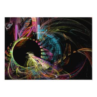 Fractal - Black Hole 5x7 Paper Invitation Card