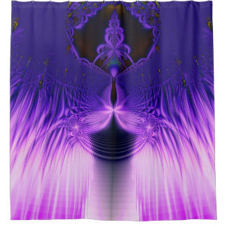 Blue Butterfly Shower Curtains Zazzle