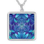 Fractal: Blue Elegance Necklace