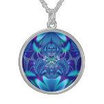 Fractal: Blue Elegance Pendant