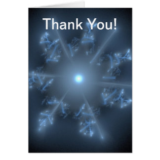 Fractal Blue Star Card
