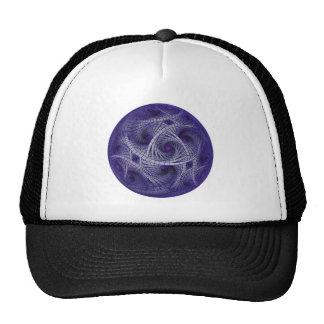 fractal-blue trucker hat