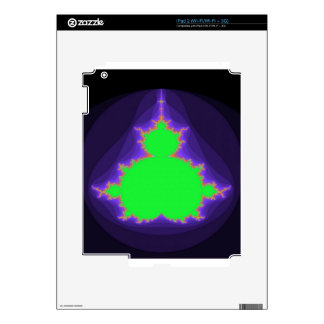 Fractal Bob steps out Decal For iPad 2
