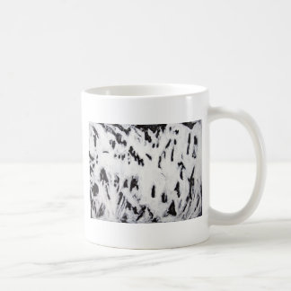 Fractal Bones (abstract surrealism pattern) Coffee Mug