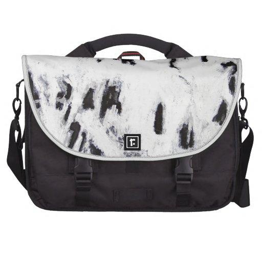 Fractal Bones (abstract surrealism pattern) Commuter Bags