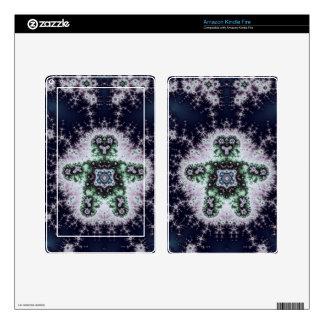 Fractal Boy Design Kindle Fire Skins