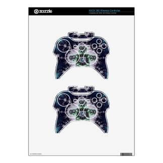 Fractal Boy Design Xbox 360 Controller Decal