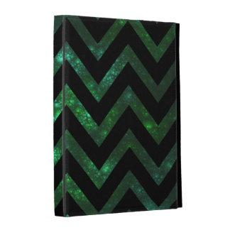 Fractal burbujeante verde Chevron
