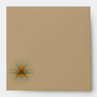 Fractal Butterfly (Choose Envelope Color) Envelope