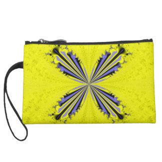 Fractal Butterfly Mini Clutch