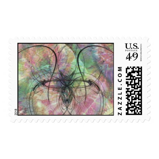 Fractal Butterfly Stamps