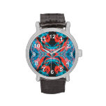 Fractal butterfly wings watches