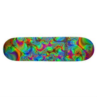 Fractal C~03 Triptych #2 Sick Stick Pro Skateboard