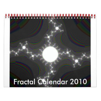 Fractal Calendar 2010