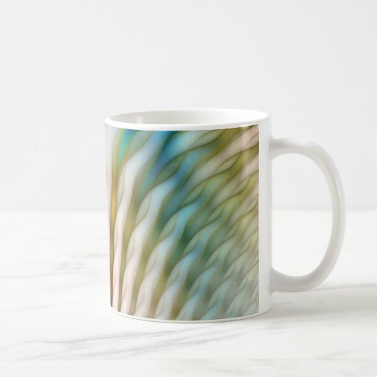 Fractal Calla Coffee Mug