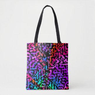 Fractal Camo Pattern Tote Bag