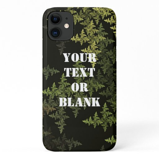 Fractal Camouflage iPhone 11 Case