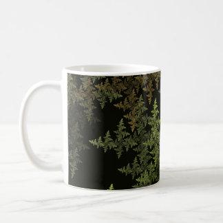 Fractal Camouflage Coffee Mug