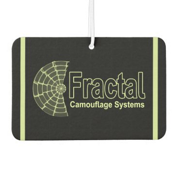 Professional Business Fractal Camouflage Systems Logo Car Air Freshener