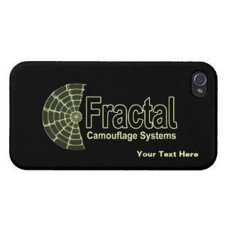 Fractal Camouflage Systems Logo iPhone 4 Cases