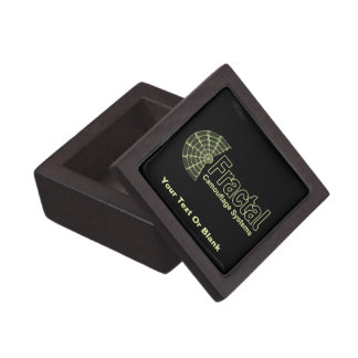 Fractal Camouflage Systems Logo Premium Gift Box