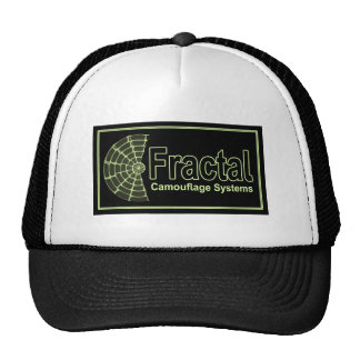 Fractal Camouflage Systems Logo Trucker Hat
