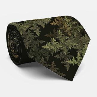 Fractal Camouflage Tie