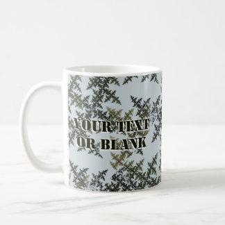 Fractal Camouflage - Winter Coffee Mug