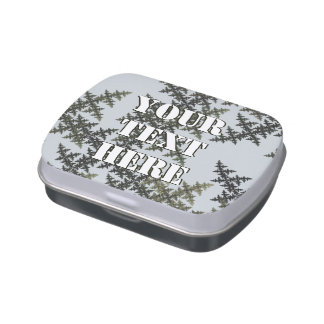Fractal Camouflage - Winter Jelly Belly Tin