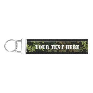 Fractal Camouflage Wrist Keychain