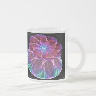 Fractal Carnival Glass Mug