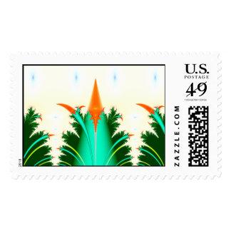 fractal carrot corn stamps