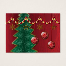 Fractal Celebration Christmas Bookmarks