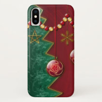 Fractal Celebration Christmas iPhone Case-Mate