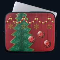 Fractal Celebration Christmas Laptop Sleeve