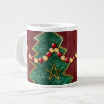 Fractal Celebration Christmas Specialty Mug