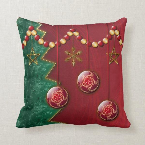 Fractal Celebration Pillow