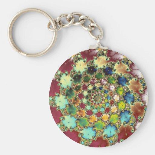 Fractal Cells - Fractal Keychain