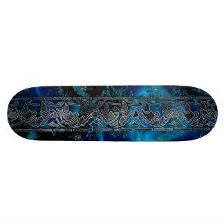 Fractal Celt 2 Graphic Design Custom Skateboard