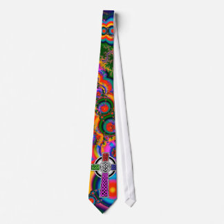 Fractal Celtic Cross Tie