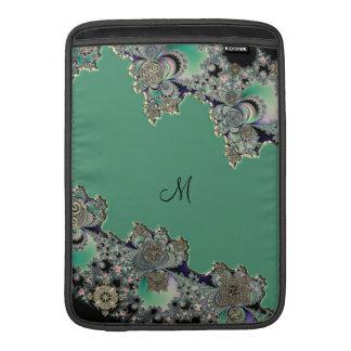 Fractal céltico verde funda macbook air
