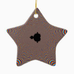 Fractal Central - Fractal Art Ceramic Ornament