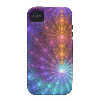 Fractal Chakras iPhone 4 Cases
