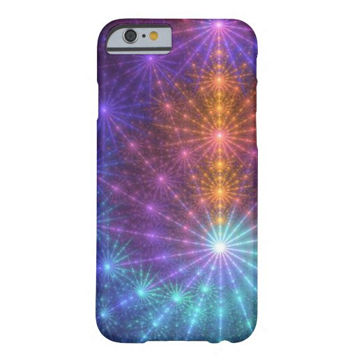 Fractal Chakras Funda De iPhone 6 Barely There