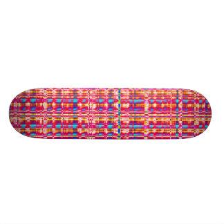 Fractal Check Skateboard