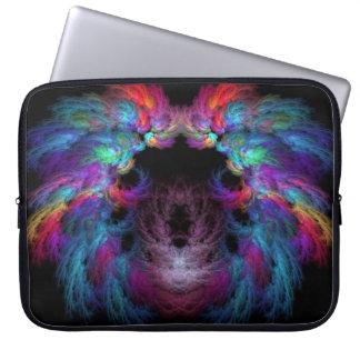 Fractal - Christ - Angels Wings Laptop Computer Sleeve