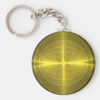 Fractal - Christ - Holy Cross Keychain